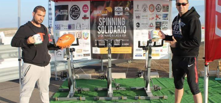 Cuquiline Team pedaleará 24 horas consecutivas antes del Almería-Córdoba para visibilizar la fibromialgia