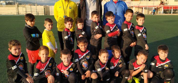 dpbmedia patrocina a los 'chupetes' de la Escuela EDA Fútbol